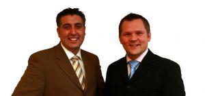 Ali Celik (links) und Adam Mielech