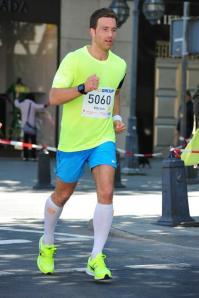 Marcus beim Düsseldorf-Marathon 2013.