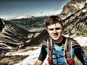 Hendrik Hahn erklimmt das Nebelhorn.