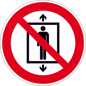Zaubertricks verboten, gilt also eigentlich nur für David Copperfield. Also nicht in ne Kiste legen und dann hoch und runter fahren...