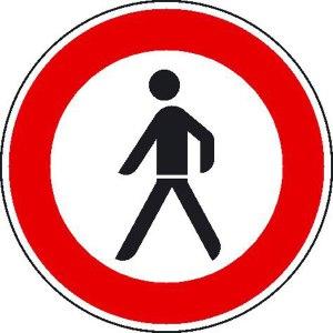 Generell sollten Fußgänger aus dem Stadtwald vertrieben werden. Mehr Freiheit für die Radler!