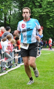 Moritz atmet durch. Foto: Charity Run