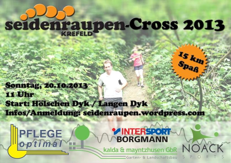 Seidenraupen Cross 2013 Flyer