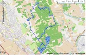 Die Strecke des Seidenraupen-Cross 2013 hat sich ein wenig geändert: noch mehr Spaß!