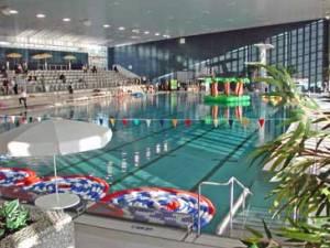 Schwimmerbecken im Badezentrum. Foto: Stadt Krefeld