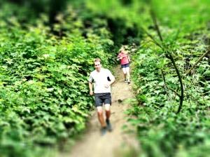 Downhill-Passage auf dem Inrather Berg.