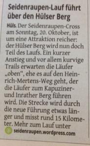 Westdeutsche Zeitung 24.09.2013