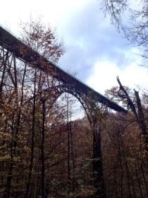 Die Müngstener Brücke.