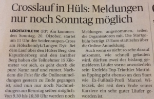 Rheinische Post 16.10.2013