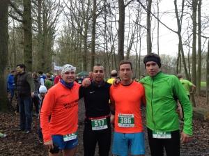 Manu, Aki, Mitch und Moritz (von links).