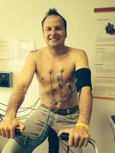 Belastungs-EKG beim Check-Up35!