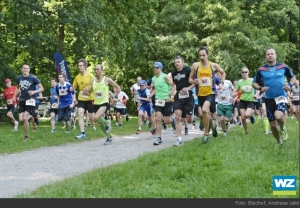Startschuss beim 10k-Lauf. Foto: Westdeutsche Zeitung