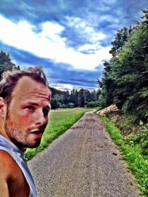 Lockere 19k-Runde durch die Wälder bei Altenmünster...