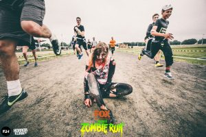 Der Zombie-Run steigt am 7. September in Neuss. Foto:  Zombie-Run