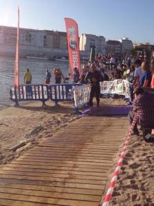 Der Ausstieg aus dem Wasser. Foto: ICAN/Twitter