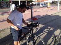 Der Bike-Service kümmert sich um mein Rad.