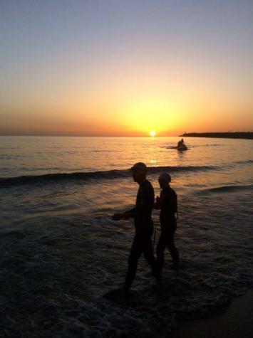 Die Sonne geht auf...Foto: ICAN/Twitter