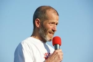 Rik Dhollander, Vorsitzender der Wase Lopers.