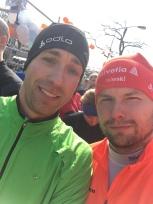 Moritz und ich beim Venloop 2015.