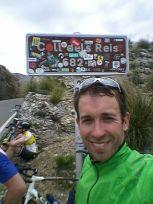Moritz sammelte knapp 900 Rad-Kilometer auf Mallorca.