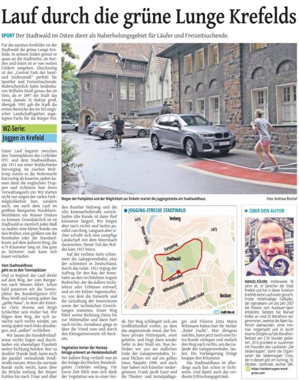 Westdeutsche Zeitung vom 24. Juli 2015