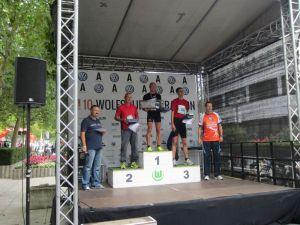 Magnus gewinnt den WOB-Marathon!