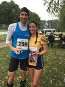 Christoph Lohse und Martine Nobili - das schnellste Paar des SRC2015!