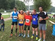 Verdammt schnelle Männer. Christoph Lohse, Magnus Gödiker, Götz Kreisel, Scott Anderson und Matthias Epping (von links). Vier von ihnen wollen auch diesmal wieder dabei sein.