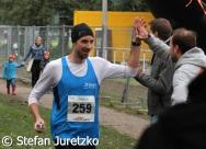 Lauf 16 KM L+ñufer 259 beim Zieleinlauf