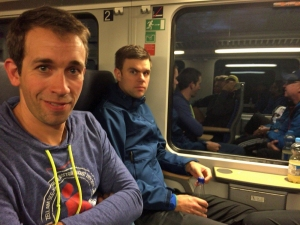 Moritz (links) und Henne liefen in Köln über die Halbmarathon-Distanz.