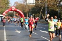Szene vom Istanbul-Marathon 2015.