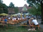 Der Biergarten im Stadtwald. Foto: Stadt Krefeld, Presse und Kommunikation