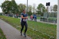 Pauline Saßerath ist als zweite Frau im Ziel des SRC 2017 (6,6 km).
