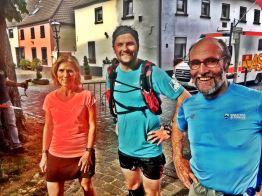 Kurzer Foto-Stopp: Susanne, Manu und Edmund.