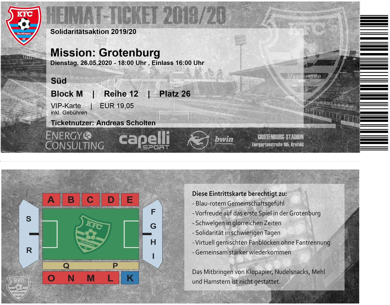 KFC Heimat-ticket